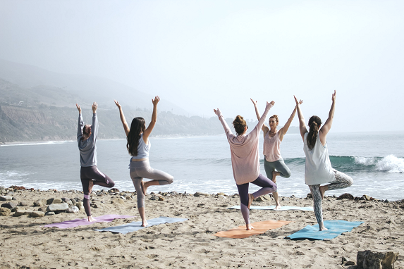 Offer a yoga session!